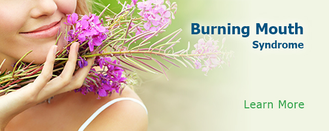Burning Mouth Syndrome Learn More Button
