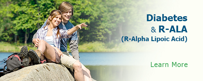Diabetes & R-ALA R-Alpha Lipoic Acid